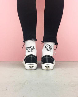 Don't Follow Me Socks