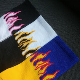 Flame On Socks