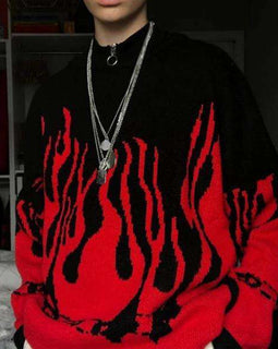 The Flame Sweater