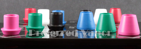 EB Vapes - Da Cloud Chaser X12 Series Delrin Drip Tips