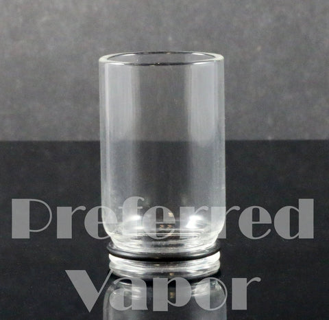 Glass 22mm Chuff Cap