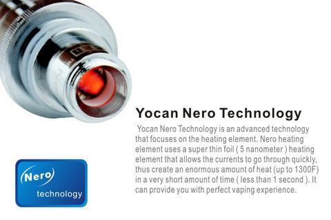 Yocan EXgo W2 Nero Replacement Heating Element