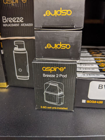 Aspire Breeze 2 Replacement Pod With Coil