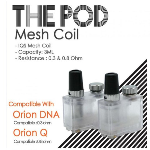 The Pod Mesh Replacement Pods (Orion DNA & Orion Q)