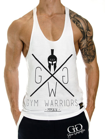 GYM WARRIORS WHITE