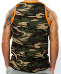 GYM WARRIORS TANK CAMO