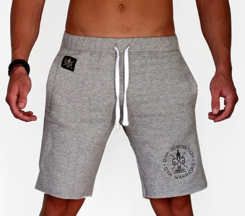 WARRIOR SHORTS GRAU