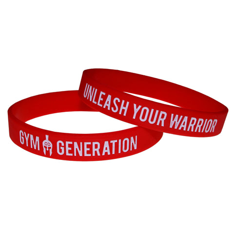 GYMGENERATION WRISTBAND - RED