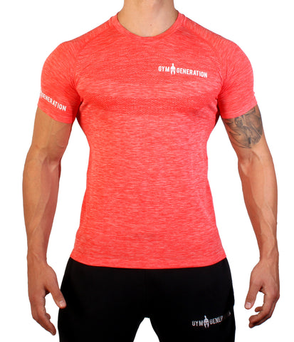 SEAMLESS SHIRT RED
