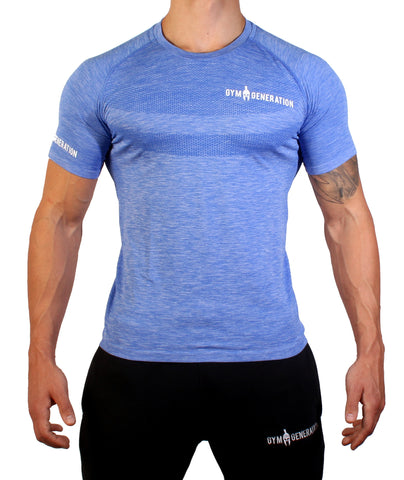 SEAMLESS SHIRT ULTRA MARINE