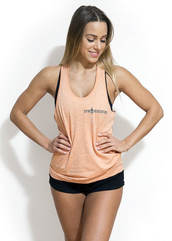 SEAMLESS TOP APRICOT
