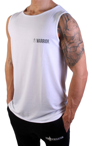Urban Warrior Tank - Miami White
