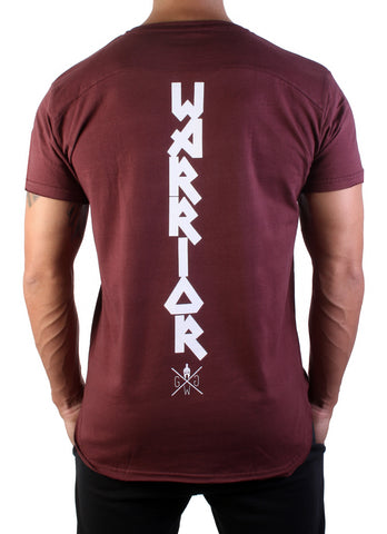 Notorious Fighter T-Shirt - Burgundy