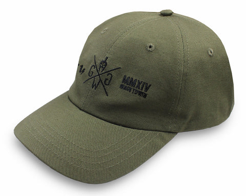 Alpha Flex Dad Hat -Khaki