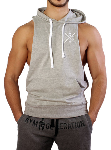 FIGHTER MUSCLE TANK GREY