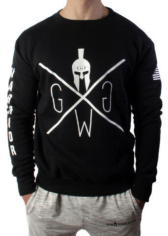 Warrior Sweater - Black