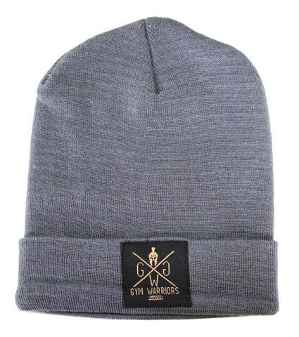 Gym Warriors Beanie - Grey