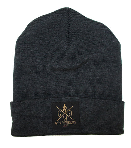 Gym Warriors Beanie - Black
