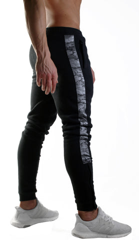 Alpha Gym Pants - Anthracite / Camo