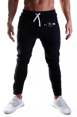 Alpha Gym Pants - Black / Camo