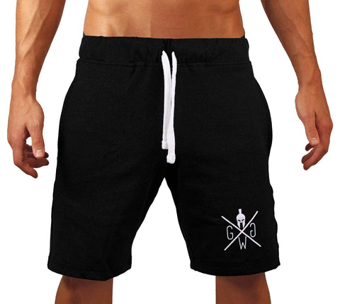 V8 Premium Fitness Shorts - Black