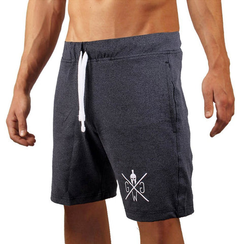 V8 Premium Fitness Shorts - Anthrazit - Gym Generation-