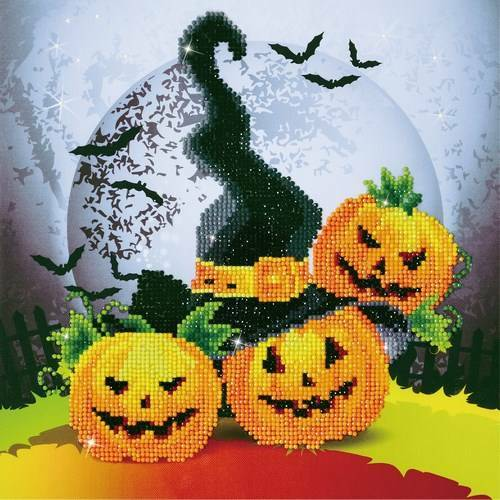 Kit de broderie diamant Diamond Dotz - Halloween magique