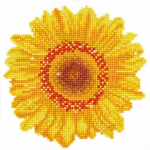 Kit de broderie diamant Diamond Dotz - Tournesol