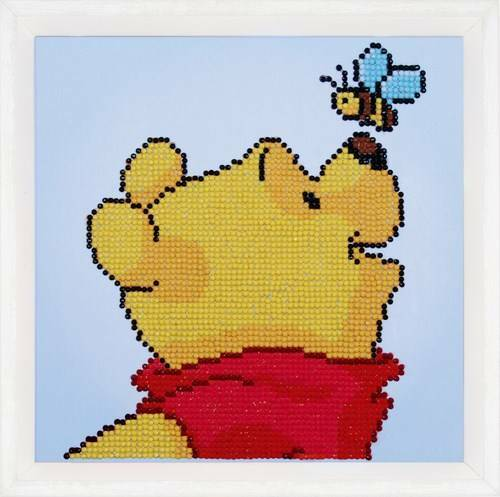Kit Broderie Diamant Disney - Winnie L'Ourson et Le Papillon