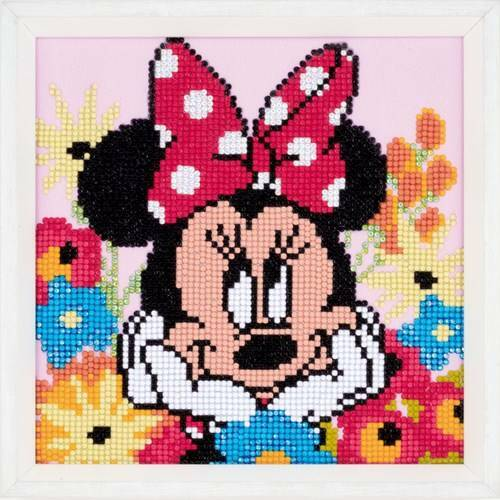 Kit Broderie Diamant Disney - Minnie Revasse