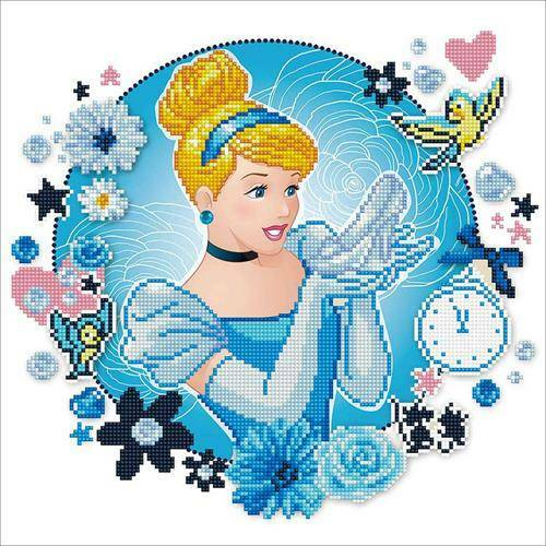 Kit Camelot Dotz Disney - Cendrillon