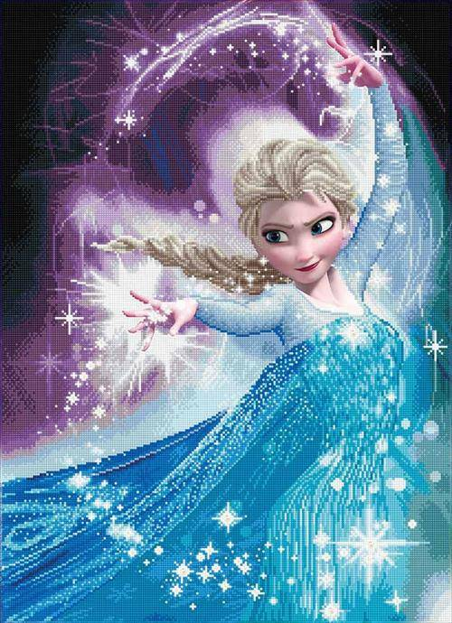 Kit Camelot Dotz - Disney - Reine Des Neiges - Elsa