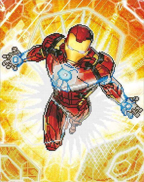 Kit Camelot Dotz Marvel - Iron Man