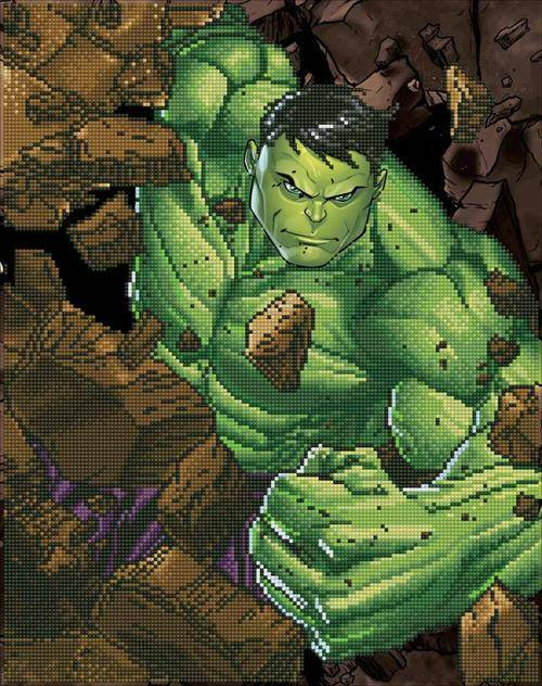 Kit Camelot Dotz Marvel - Hulk