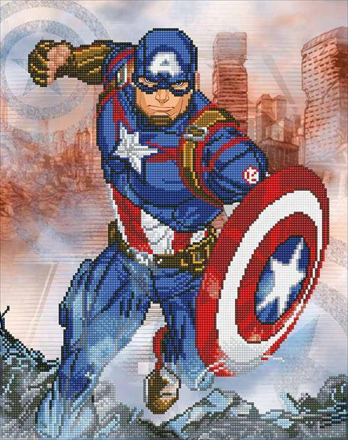 Kit Camelot Dotz Marvel - Captain America