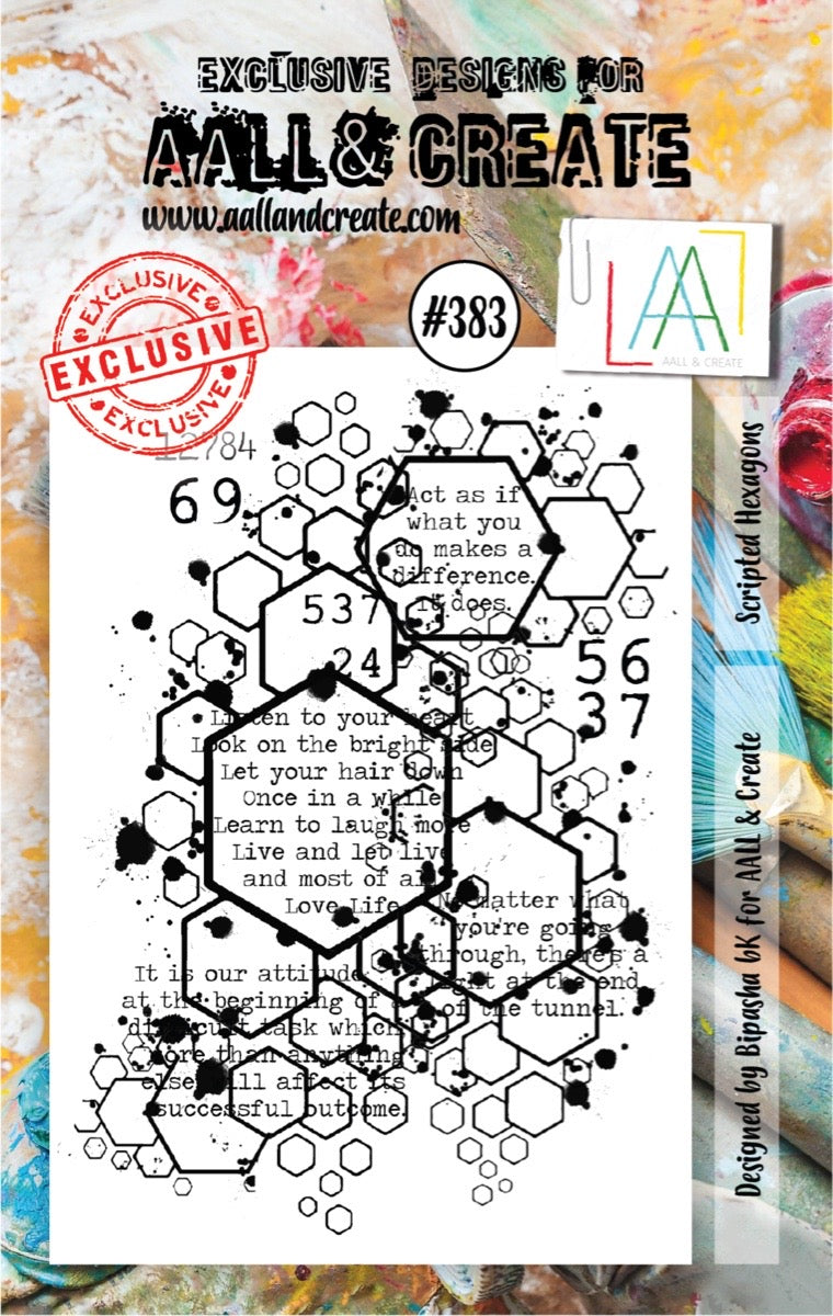 AALL and Create Stamp Set -383