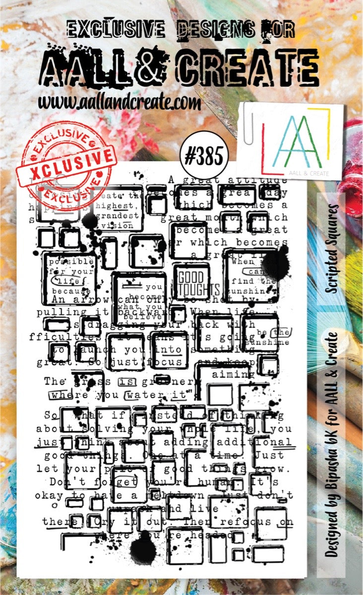 AALL and Create Stamp Set -385