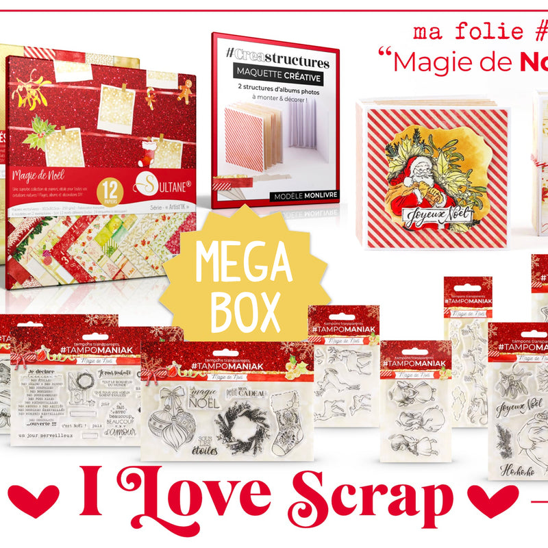 Box de Scrapbooking - I LOVE SCRAP