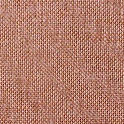Coupon de lin 50x70 cm - 12 fils -pain d'epices