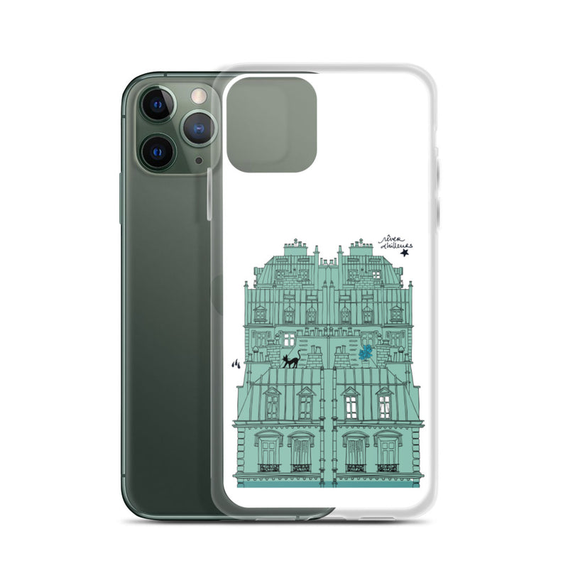 Coque iPhone Rêver d'ailleurs