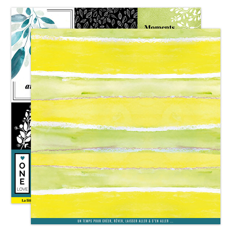 Papier imprimé YELLOW 4