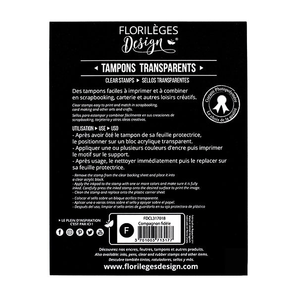 Tampons clear COMPAGNON FIDÈLE