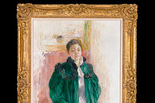 Load image into Gallery viewer, Jeune Fille au Manteau Vert by Berthe Morisot