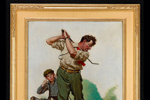 Load image into Gallery viewer, The Golfer by Norman Rockwell