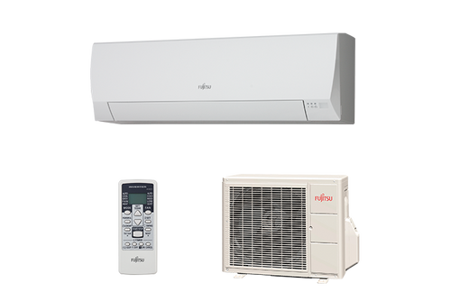 Fujitsu Wall mounted ECO Range 3.4kW Cooling 4.0kW Heating ASYG12LLCE