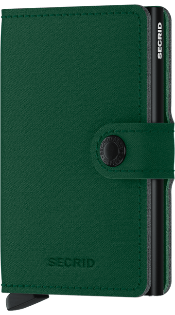 SECRID MINIWALLET YARD-GREEN NON LEATHER