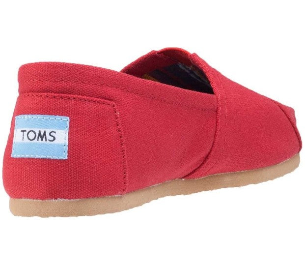 TOMS ALPARGATA CANVAS-RED