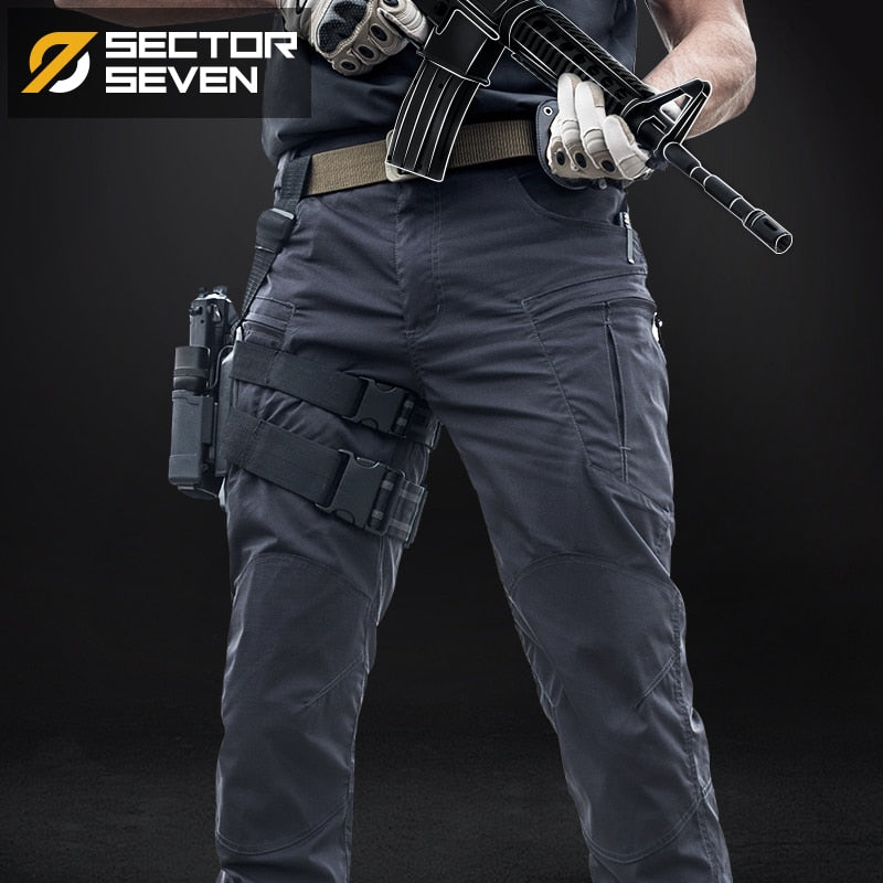 Sector Seven IX8 Waterproof tactical War Game Cargo pants mens silm Casual Pants mens trousers Army military Active pants - onlinedressstore