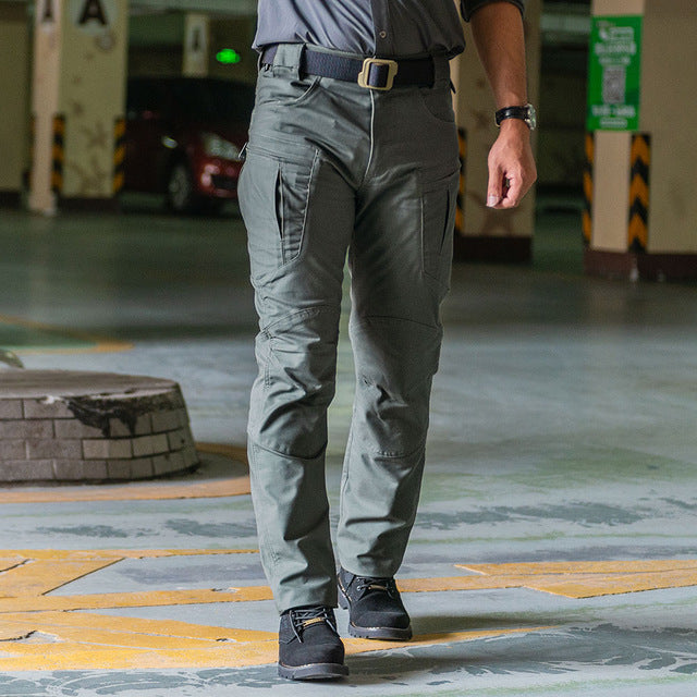 Sector Seven IX8 Waterproof tactical War Game Cargo pants mens silm Casual Pants mens trousers Army - onlinedressstore
