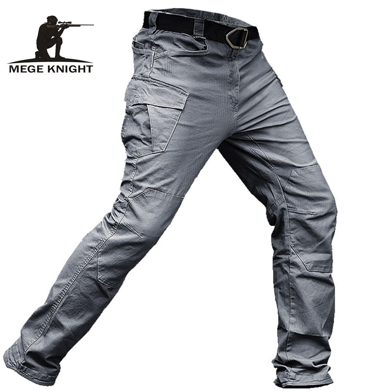 Tactical Pants Men Military Clothing Cargo Pants Army Casual Style Combat Trousers Cotton Stretch Multi pocket - onlinedressstore